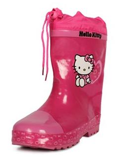 Billig foret gummistøvle fra Hello Kitty