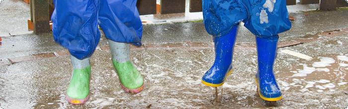 Guide til køb af regntøj til børn
