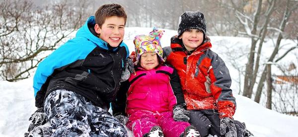 Billig vinterjakke til børn