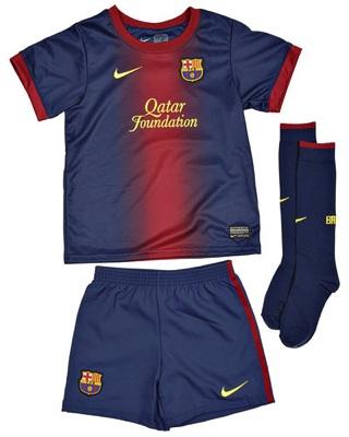 Barcelona fodboldtøj til børn