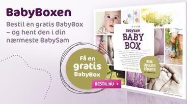 Gratis Babybox fra Babysam