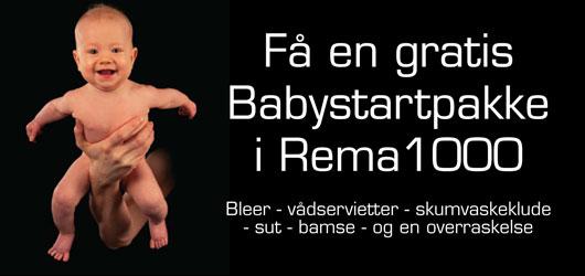 Babystartpakke fra Rema1000