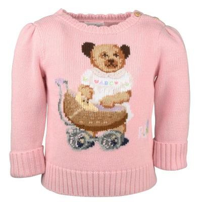 Sød trøje til baby fra Ralph Lauren