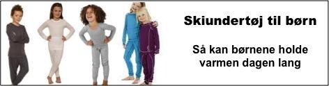Skiundertøj til børn