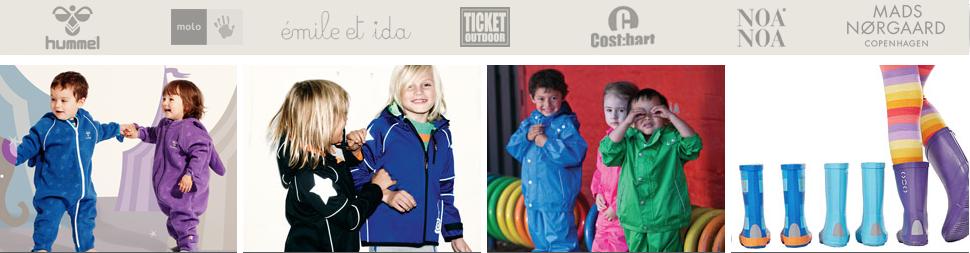 Børnetøj på tilbud og lagersalg