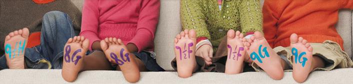 Sko til småbørn 0 - 3 år