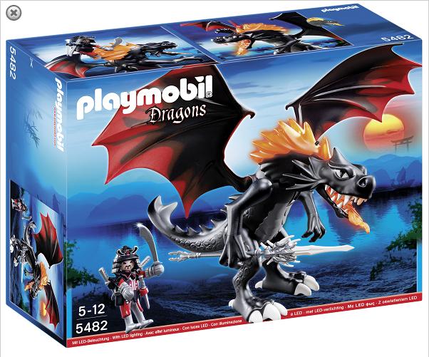 Drage tema fra Playmobil legetøj