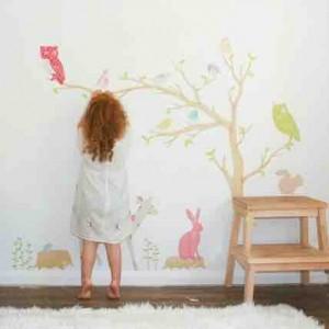 Wallstickers til børneværelset
