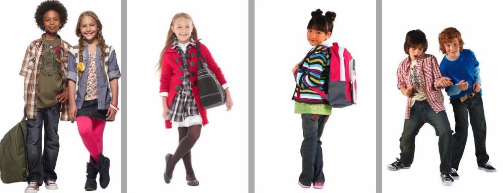 Smart børnetøj til første skoledag fra de bedste mærker